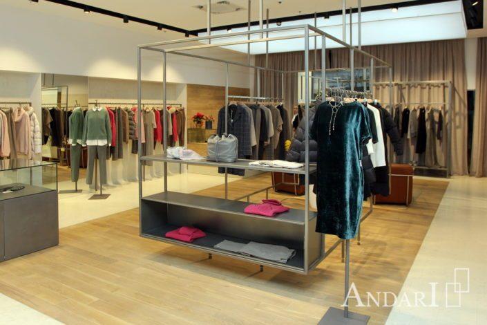 оборудование для магазина одежды андари