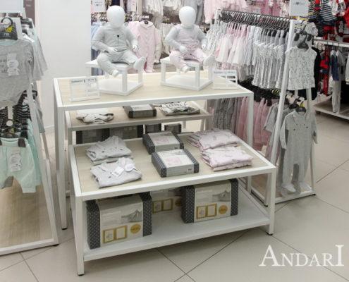 Торговое оборудование для магазина андари