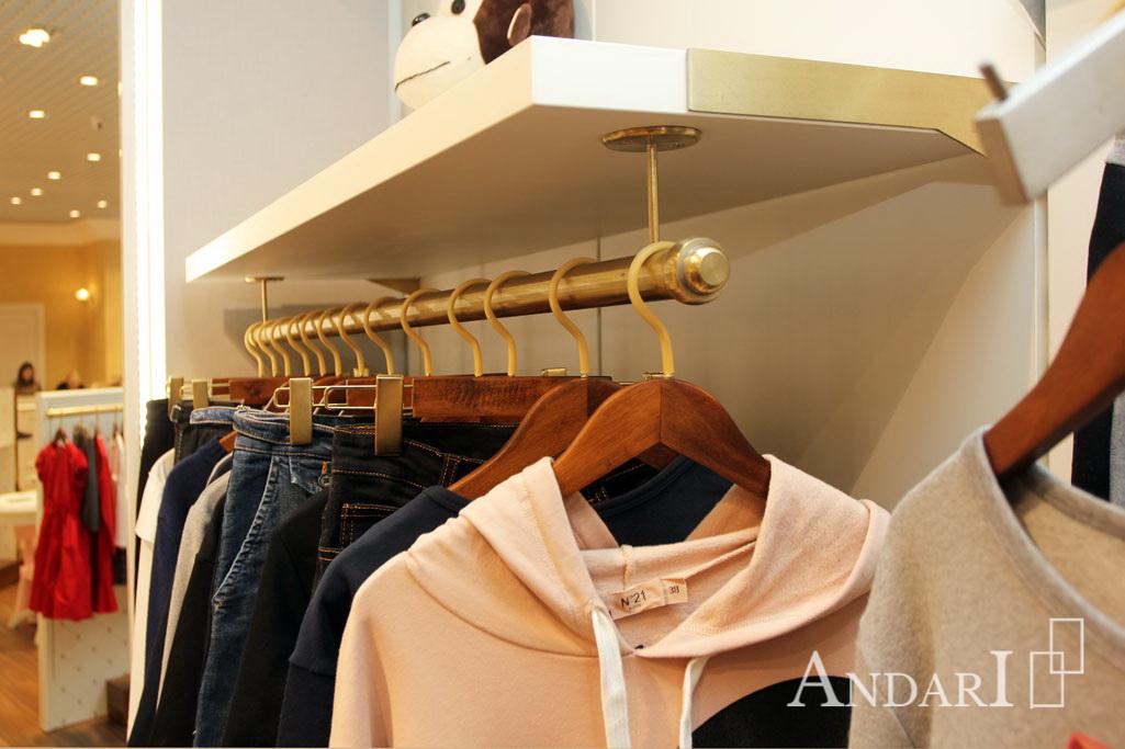 оборудование для магазина детской одежды андари