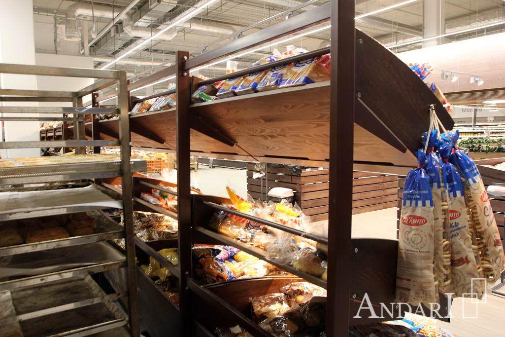 Торговое оборудование - хлебная горка