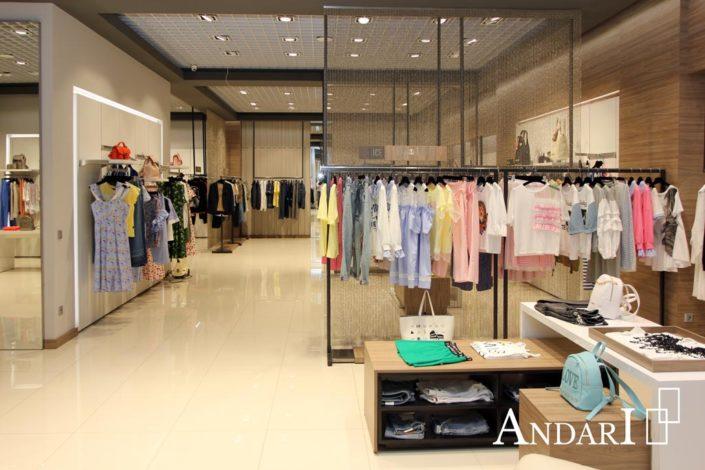 Мебель для магазина одежды - торговое оборудование