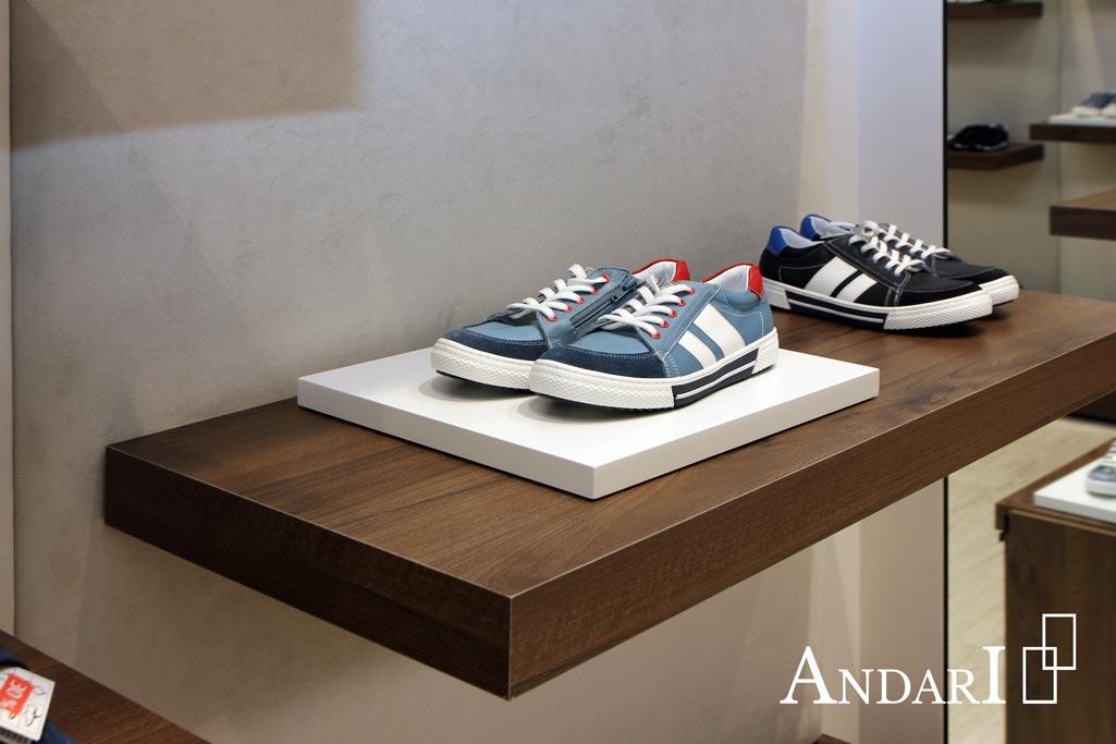 Торговое оборудование: подставка для обуви